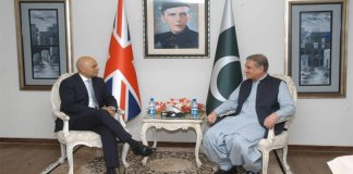 Qureshi emphasizes on expanding Pak-UK cooperation