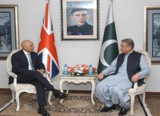Qureshi emphasizes on expanding Pak-UK cooperation