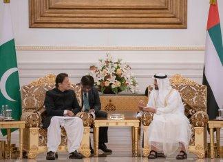 PM Imran Khan arrives in UAE on state visit
