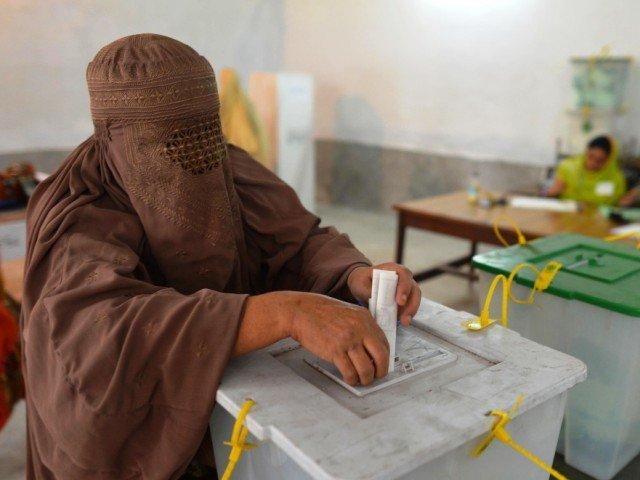 Re-polling on PK-23 Shangla underway