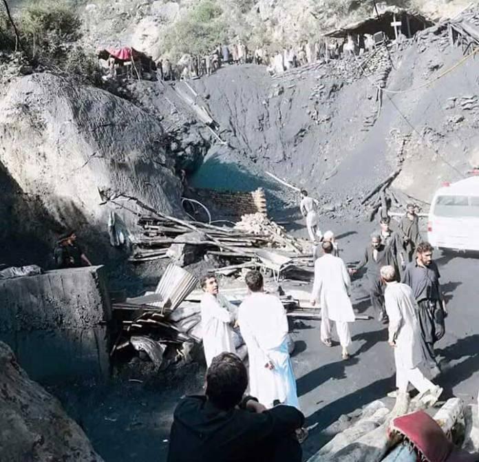 Nine laborers die as coal-mine caved in Kohat