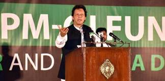 PM Imran Khan urges to donate in dam fund for future generations