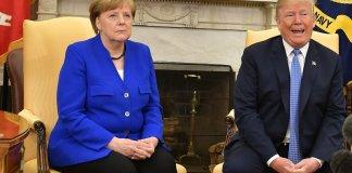Merkel warns Trump against 'destroying' UN