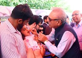 President launches countrywide anti-measles drive