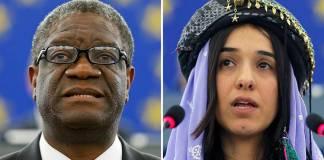 Dr Mukwege and Yazidi campaigner Murad win Nobel Peace Prize
