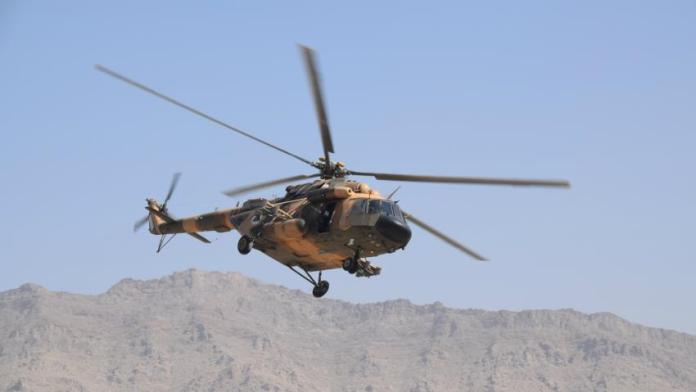 Afghan army helicopter crashes, killing 25 on board