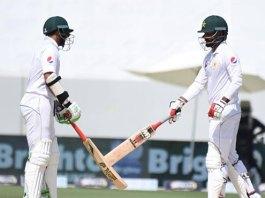 Pakistan progress to 329-4 in first Test against Australia