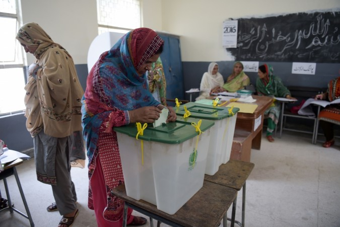 Polling underway for by-elections in 35 NA, PA constituencies