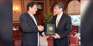 DG ISI pays farewell call on PM Imran Khan
