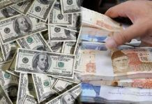 Pakistani rupee makes gains against US dollar