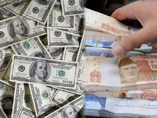 Pakistani rupee makes gains against US dollar
