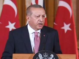 Khashoggi was slain in a vicious, violent murder: Erdogan