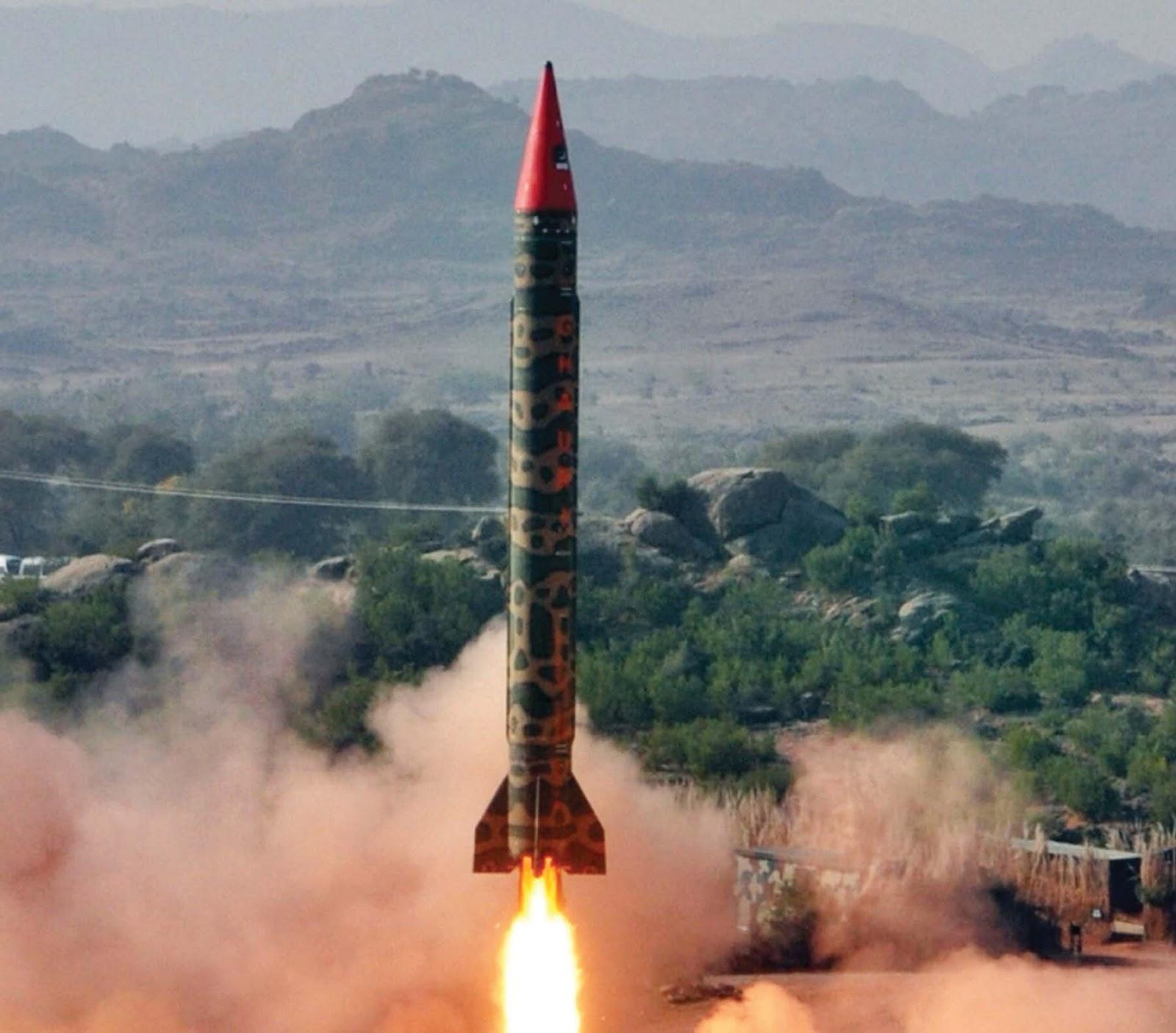 Resultado de imagem para ghauri missile