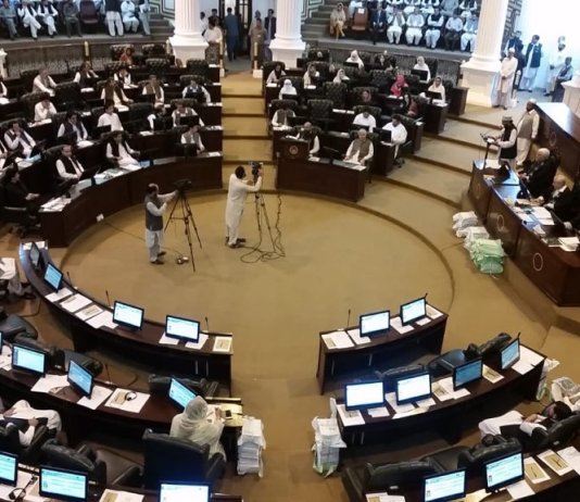 KP Govt presents eight-month budget in provincial assembly