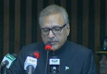 Pakistan desires for peace in the region: President Alvi