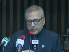 Pakistan desires for peace in the region: President Alvi