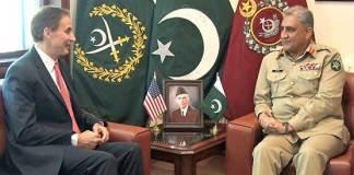 US envoy calls on COAS Gen Bajwa, discuss Afghanistan situation
