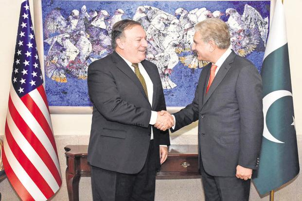 Indian aggression can affect Afghan peace efforts, Qureshi tells Pompeo,