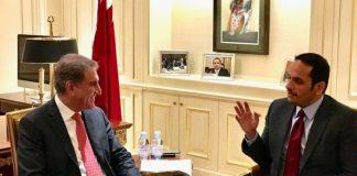 Qatari FM meets Qureshi, discusses bilateral ties