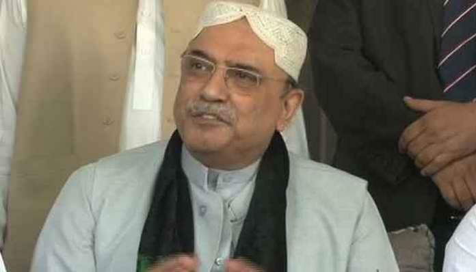 Zardari questions NAB's jurisdiction over Park Lane interrogation