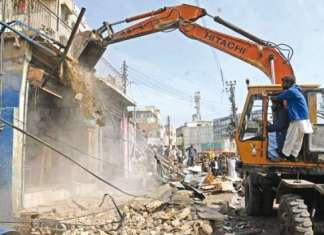 SC orders continuation of anti-encroachment drive in Karachi