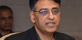 Finance Minister Asad Umar