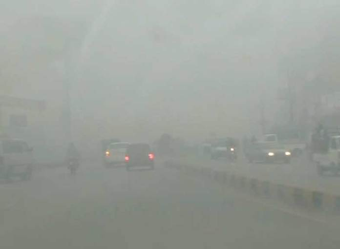 Motorway section from Peshawar to Rashakai closed due to fog