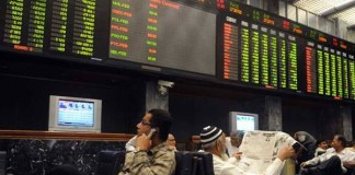 PSX loses over 1900 points owing to fear of devaluation