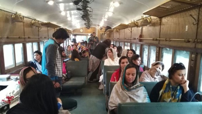KP Tourism Department arranges Safari train for tourists