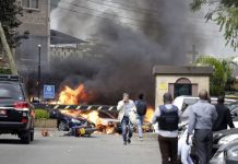 Gunmen kill 15 in Kenya hotel compound attack