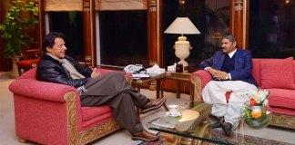 PM Imran, Ali Gohar Mahar discuss political situation in Sindh