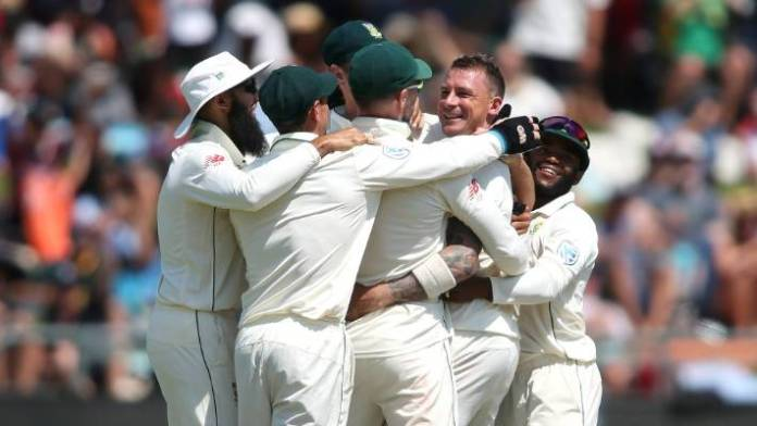 South Africa beat Pakistan by nine wickets in Cape Town Test