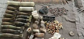 Security forces recover huge cache of arms in Khyber district