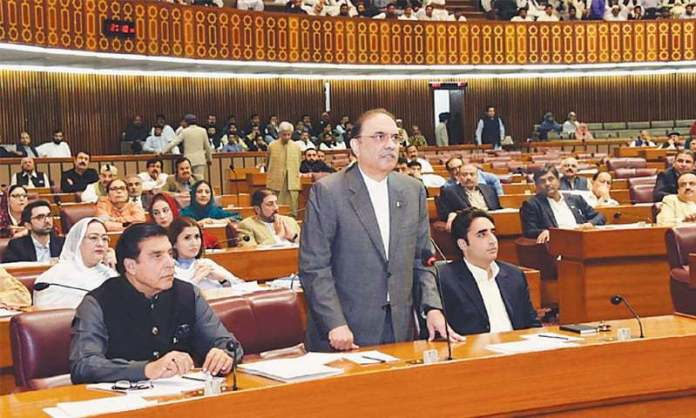 Chairman NAB should appear before Parliament: Zardari