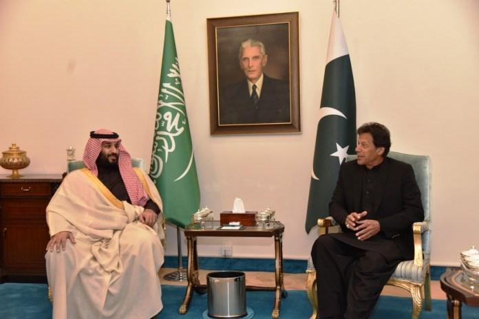 Saudi Crown Prince ImRan Khan
