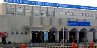CAA allows night flights operation at Bacha Khan Intl airport