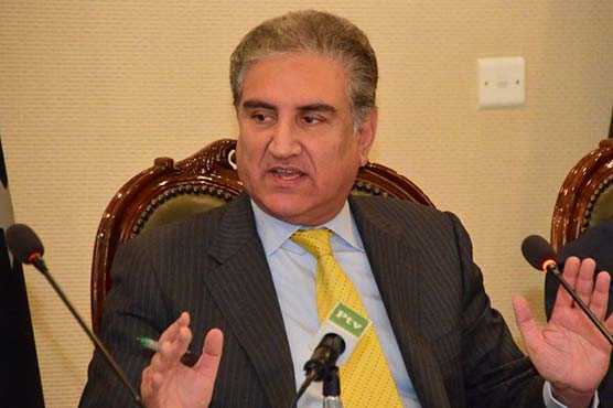 FM Qureshi discusses occupied Kashmir situation with South African counterpart