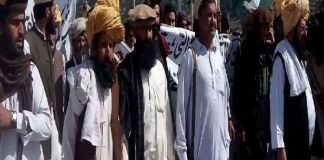 Grand Jirga stages protest against killing of Pakistanis in Afghanistan
