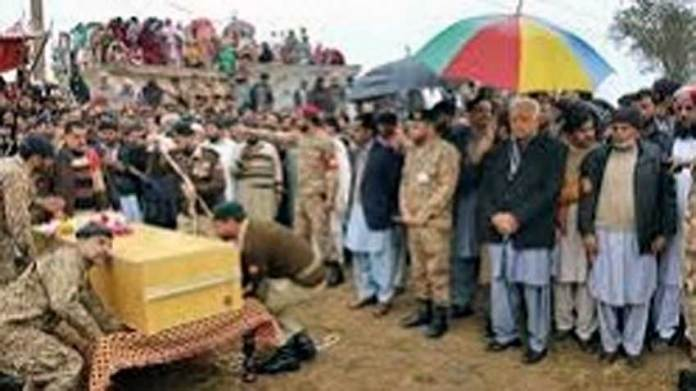 Pak Army soldier martyred in Indian shelling laid to rest