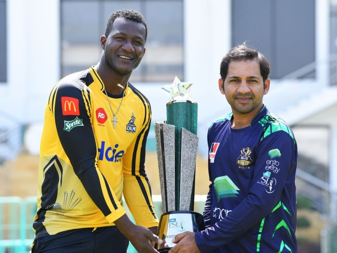 PSL-4 trophy unveiled at National Stadium Karachi