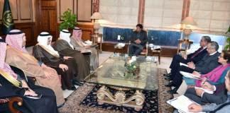 Saudi Foreign Minister Adel al-Jubeir calls on PM Imran Khan