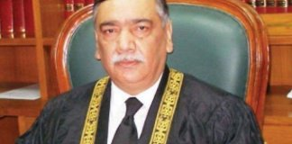 Chief Justice Asif Saeed Khosa, Justice Gulzar leave for Russia
