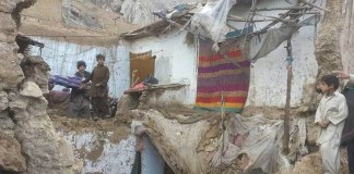 Three killed in roof collapse incident in Swabi