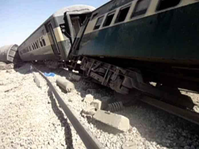 Four killed as blast derails passenger train near Dera Murad Jamali