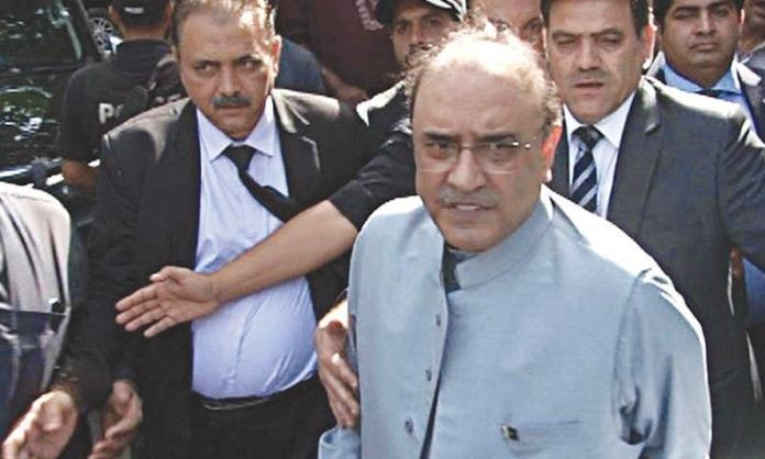 Will take legal action against NAB chief over interview: Zardari