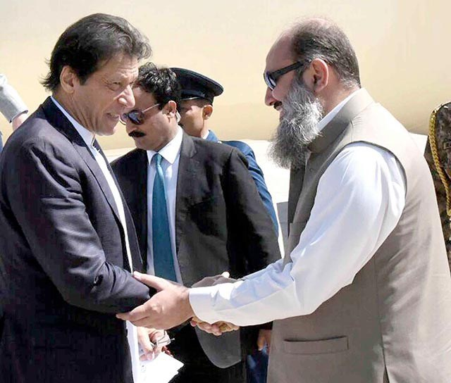 PM Imran to review Balochistan's security situation during visit to Quetta