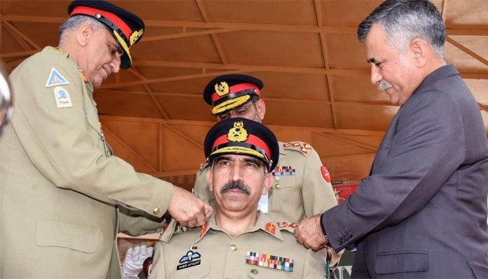 COAS visits AK Regimental Center, installs Lt Gen Sher Afghan as Col Commandant