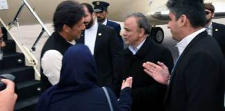 PM arrives at Mashhad for brief stop-over before proceeding to Tehran