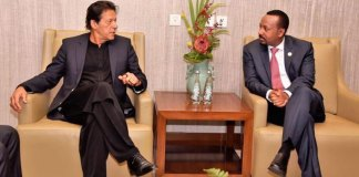 PM Imran, Ethiopian counterpart discuss bilateral ties