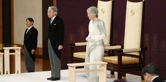 Japan's emperor performs main abdication ceremony